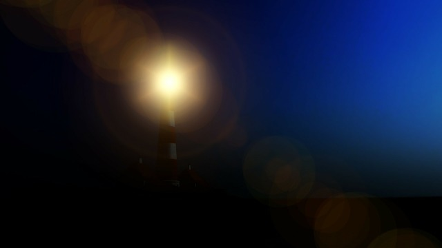 Lighthouse night light.