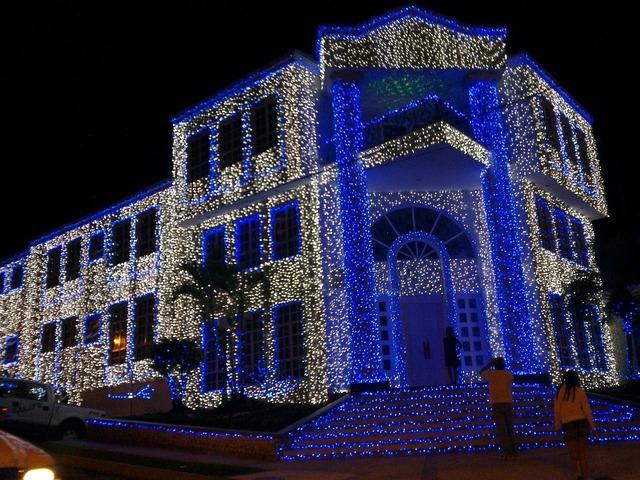 Lighting facade architecture, architecture buildings.