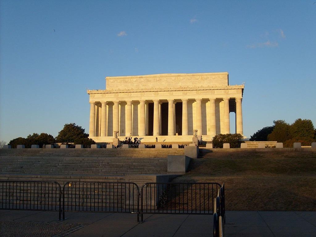 Lincoln memorial building famous, architecture buildings.