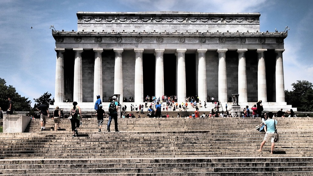 Lincoln memorial washington dc seat of government, architecture buildings.
