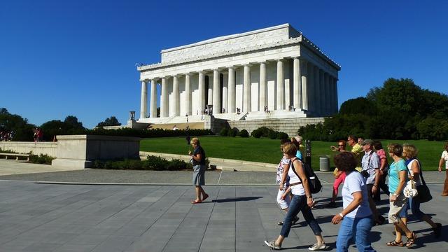 Lincoln memorial washington september.