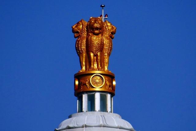 Lion capital national emblem ashoka emblem, architecture buildings.