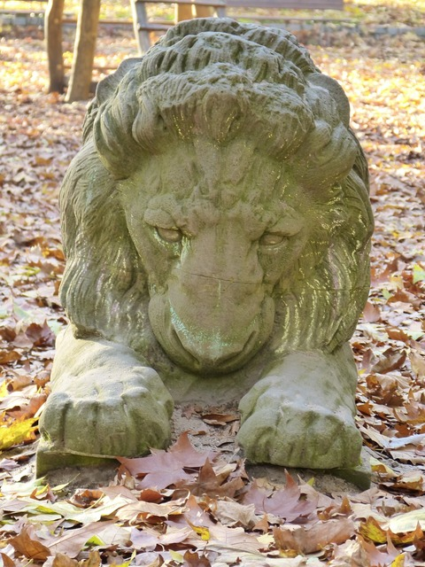 Lion stone stone sculpture.