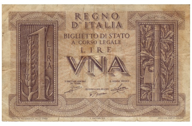 Lire banknote italy, business finance.