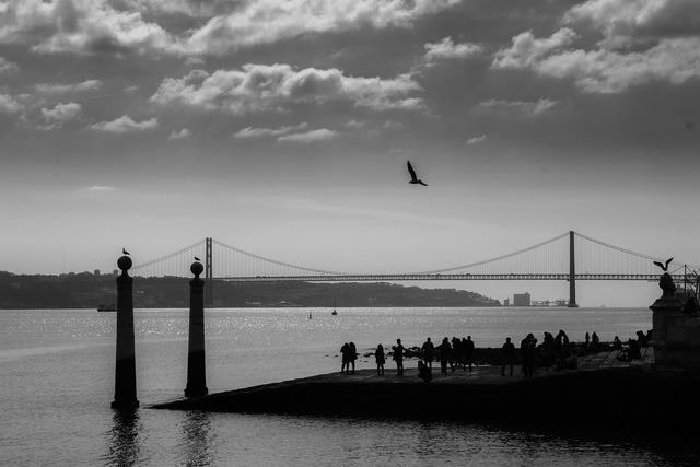 Lisbon tajo river.