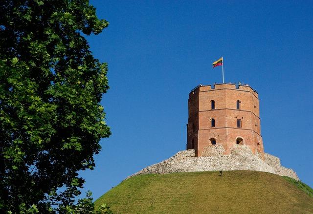Lithuania vilnius castle, nature landscapes.