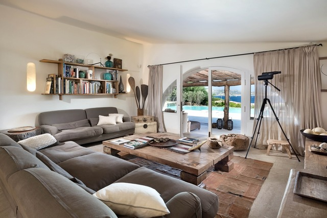Living room loft sardinia.