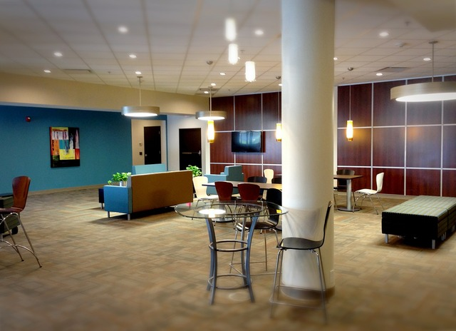 Lobby office business, business finance.