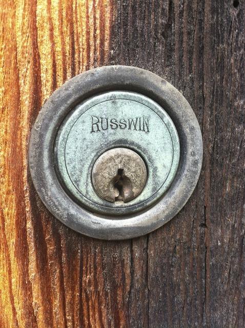 Lock antique vintage.