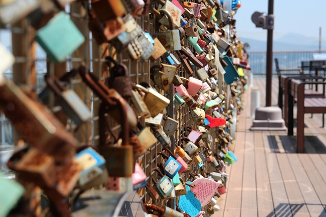 Lock key promise, emotions.