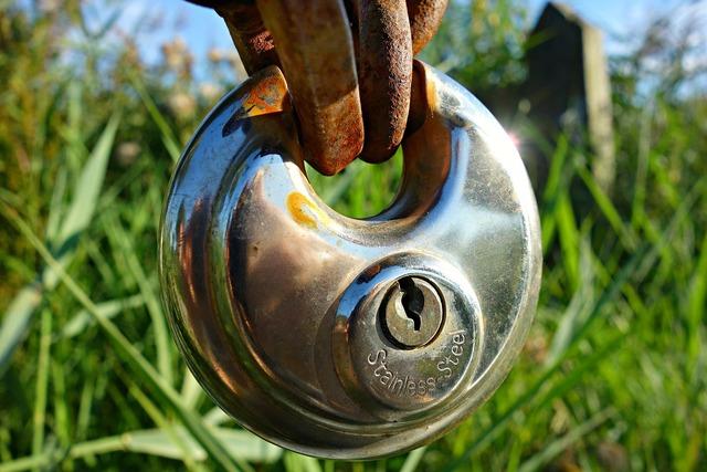 Lock padlock keyhole.