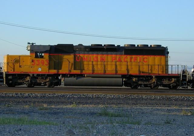 Loco locomotive union pacific.