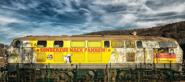Loco train locomotive, places monuments.