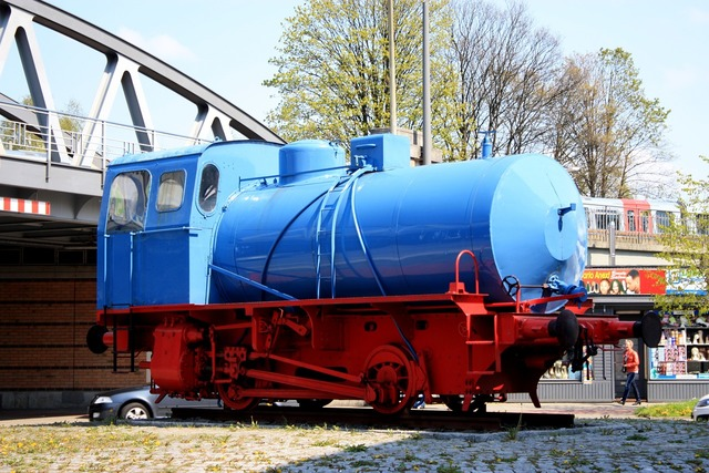 Locomotive exhibition places of interest.
