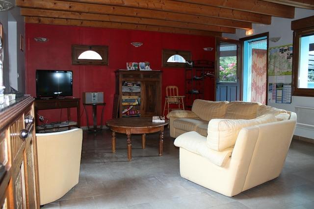 Logis living room france.