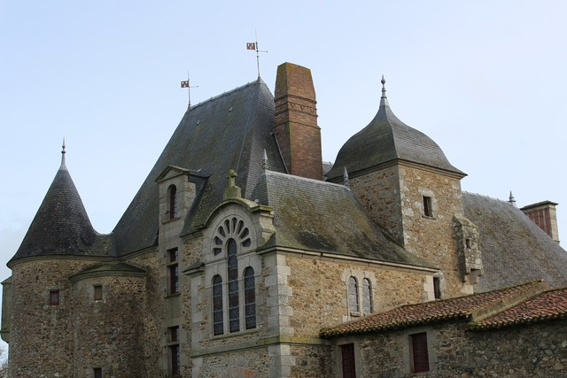 Logis of the chabotterie castle france.