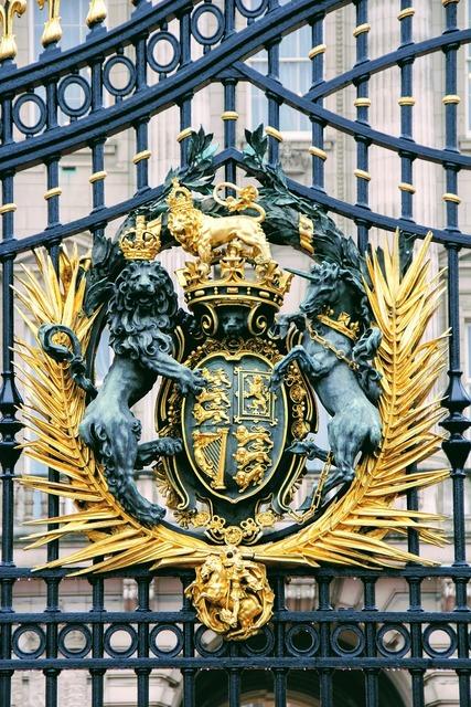 London buckingham palace detail.