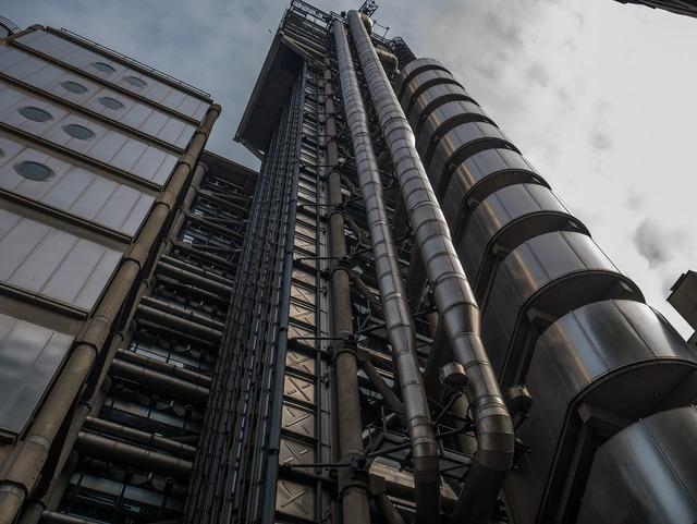 London building futuristic, architecture buildings.