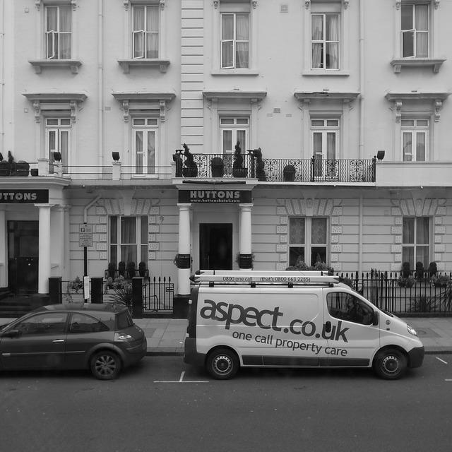 London bus home, architecture buildings.