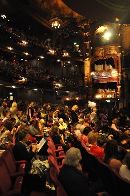 London palladium theater audience.
