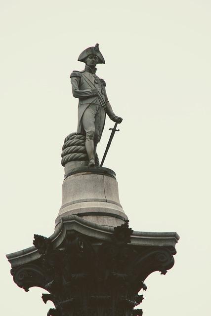 London sculpture napoleon, architecture buildings.