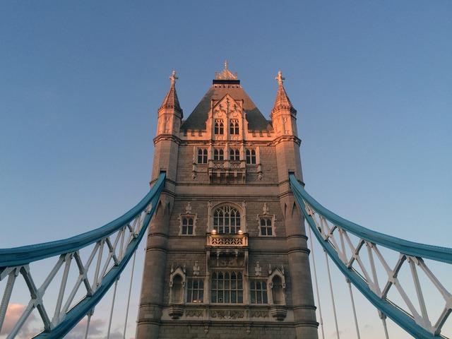 London tower bridge england.