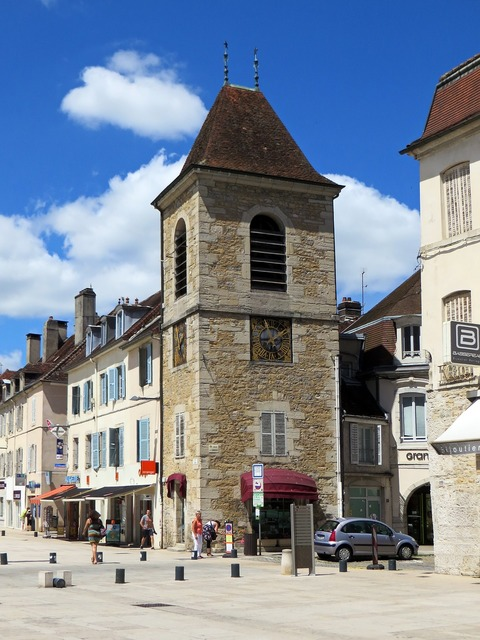 Lons-le-saunier france jura, architecture buildings.