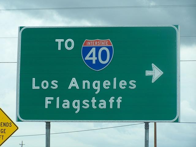 Los angeles usa flagstaff.