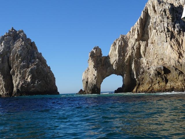 Los cabos mexico beach, travel vacation.