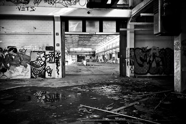 Lost places factory old, architecture buildings.