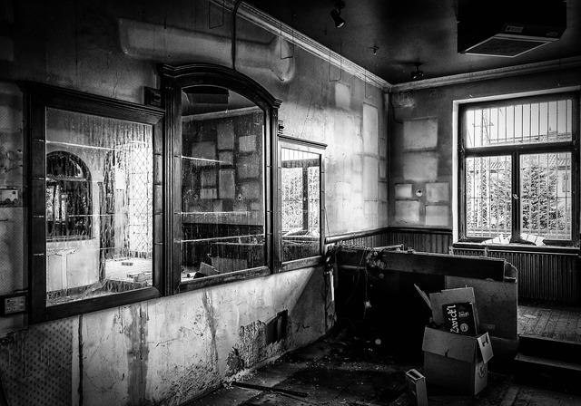 Lost places pforphoto pub, architecture buildings.