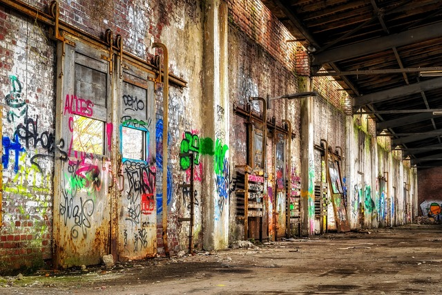 Lost places space stock, architecture buildings.
