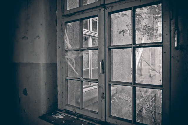 Lost places window old, architecture buildings.
