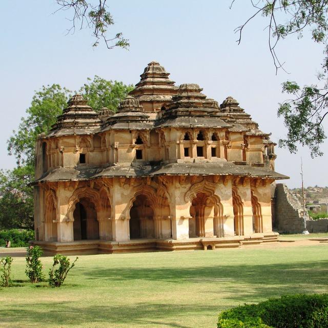 Lotus mahal hampi hospet, places monuments.