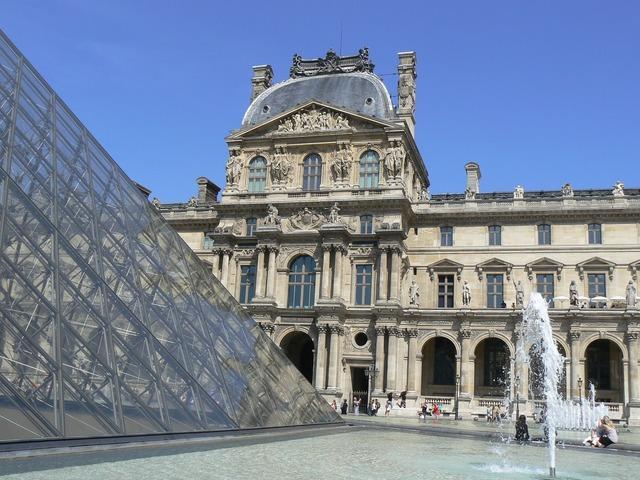 Louvres museum paris.
