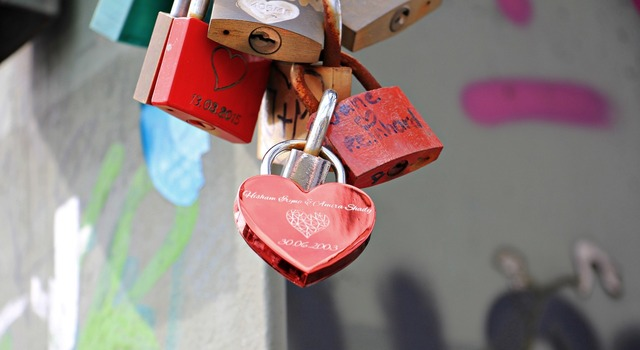 Love castle hohenzollern bridge love locks, emotions.