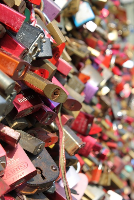 Love locks love castle, emotions.