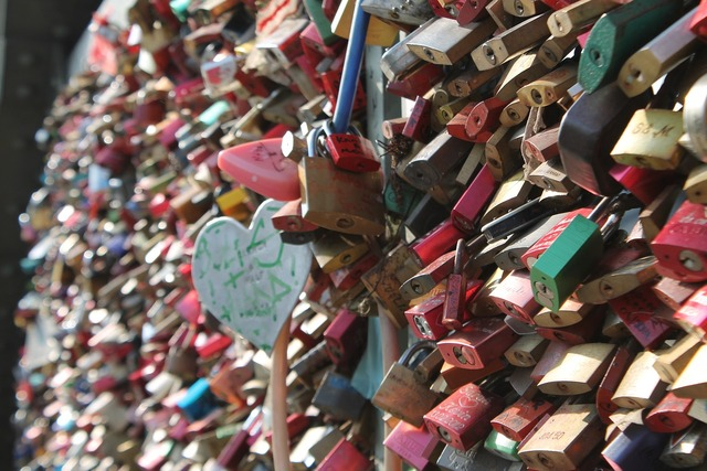 Love locks love castle, emotions.