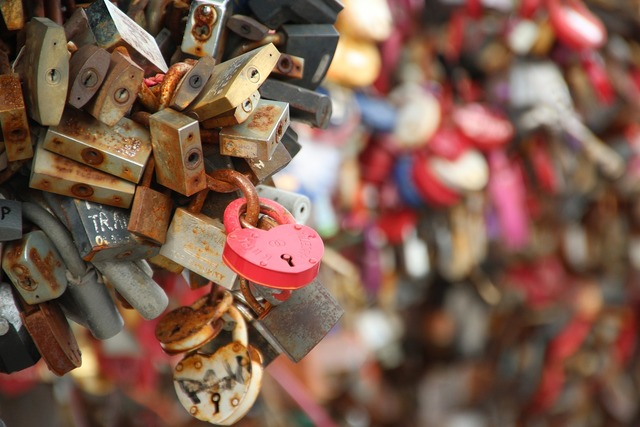 Love locks padlock love, emotions.