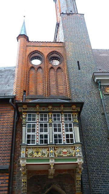 Lübeck hanseatic league historically, architecture buildings.