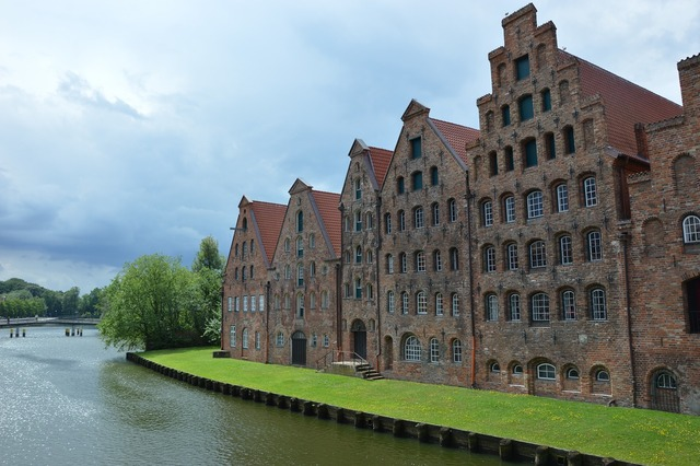 Lübeck memory river.