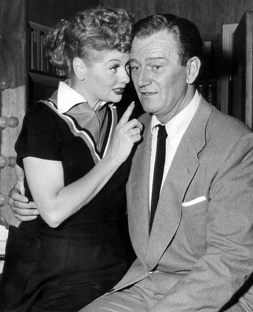 Lucille ball john wayne actress.
