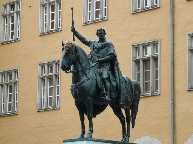 Ludwig i equestrian statue king, architecture buildings.