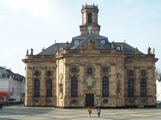 Ludwigskirche saarbrücken church, religion.