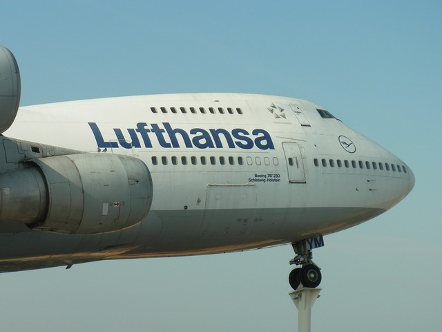 Lufthansa aircraft aviation, travel vacation.