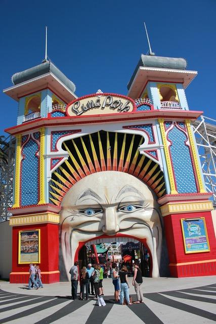 Luna park st kilda entertainment.