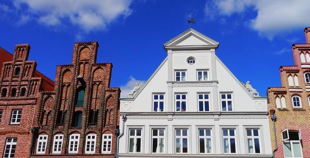 Lüneburg home building, architecture buildings.