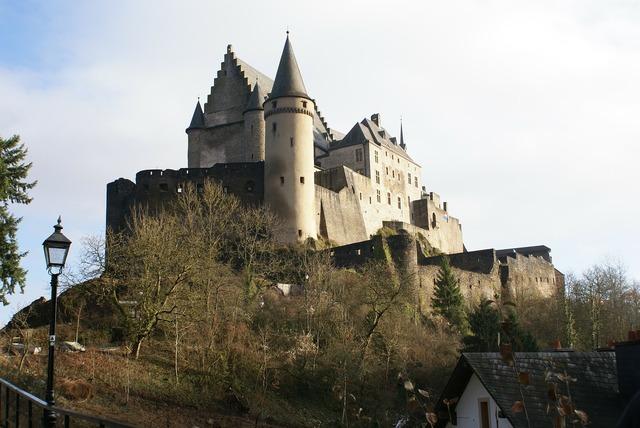 Luxembourg vianden castle.