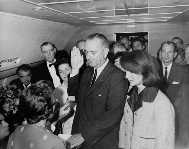 Lyndon b johnson president usa.