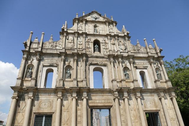 Macau china church, religion.